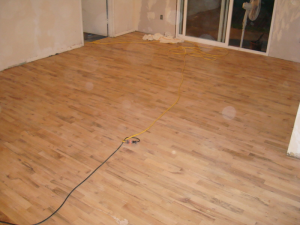 BEFORE – WORN OUT OAK